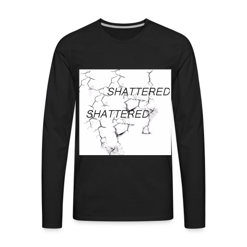 SHATTERED - Men's Premium Long Sleeve T-Shirt