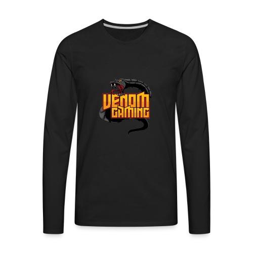 Letterman Jacket - Men's Premium Long Sleeve T-Shirt