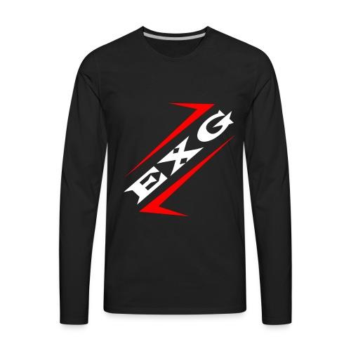 Exploit Gaming Logo - Men's Premium Long Sleeve T-Shirt
