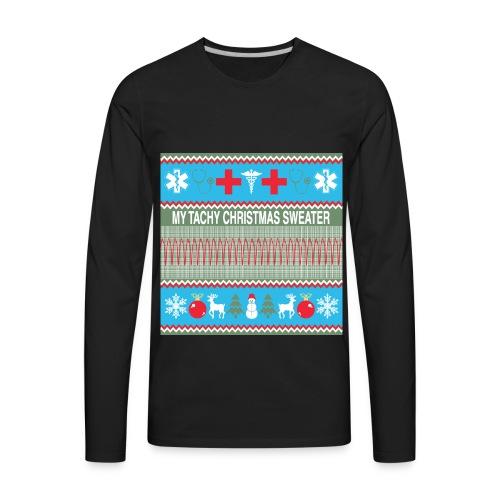 tacky christmas - Men's Premium Long Sleeve T-Shirt