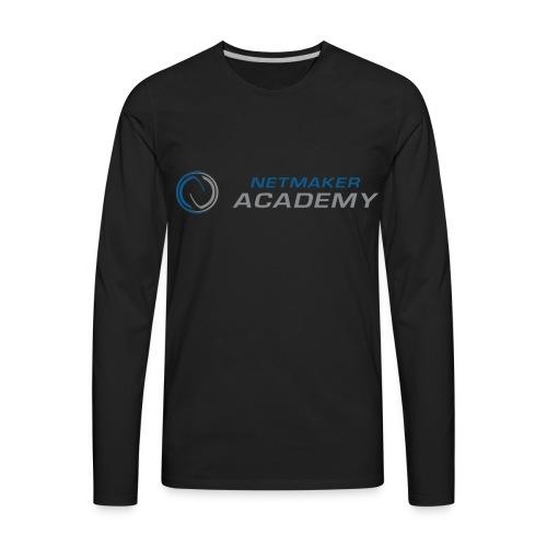 Netmaker Academy - Men's Premium Long Sleeve T-Shirt