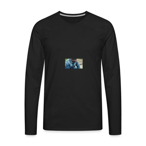 Bison Fallon - Men's Premium Long Sleeve T-Shirt