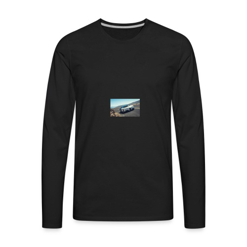 2017 bugatti chiron first ride review car and driv - Men's Premium Long Sleeve T-Shirt