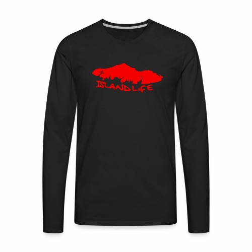 Island Life - Men's Premium Long Sleeve T-Shirt
