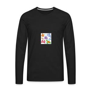 animales animados - Men's Premium Long Sleeve T-Shirt
