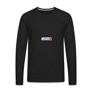 Channel art - Men's Premium Long Sleeve T-Shirt