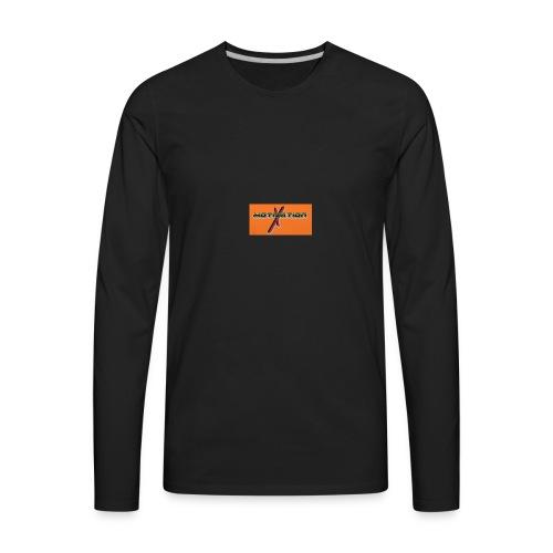Orange phone cases - Men's Premium Long Sleeve T-Shirt