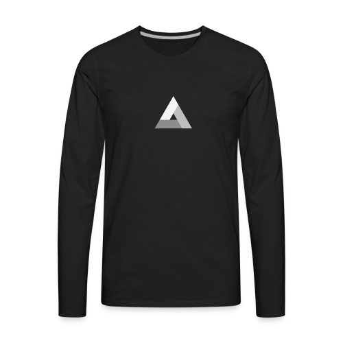 The Power of Three (Tri) - Men's Premium Long Sleeve T-Shirt