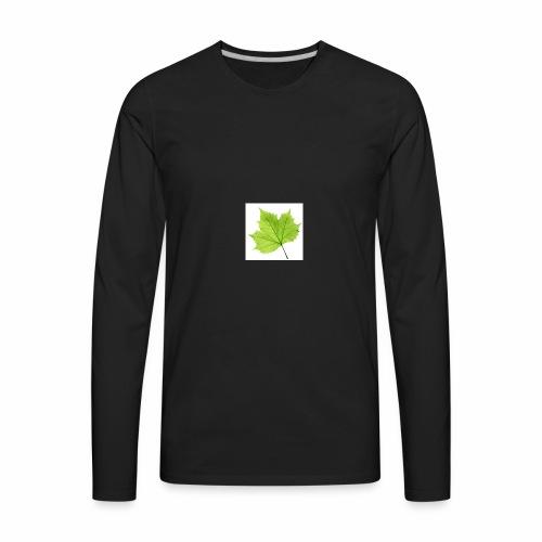 Leaf symbol - Men's Premium Long Sleeve T-Shirt