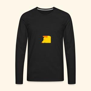 wOLF Attack - Men's Premium Long Sleeve T-Shirt
