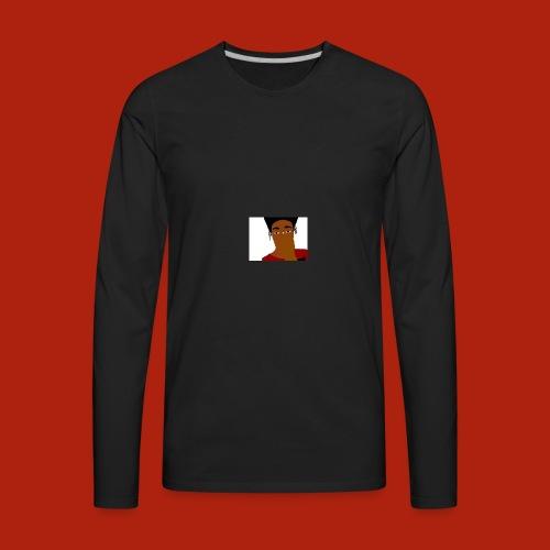 KingKurt's Bad Cartoon - Men's Premium Long Sleeve T-Shirt