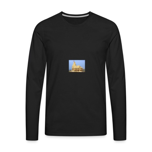 Jyotirling temple - Men's Premium Long Sleeve T-Shirt