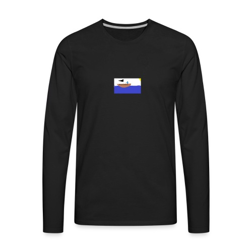 TRASHY BOAT V2 - Men's Premium Long Sleeve T-Shirt
