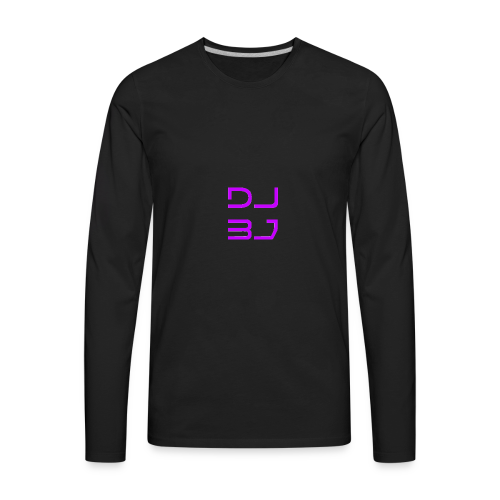DJ BJ - Men's Premium Long Sleeve T-Shirt