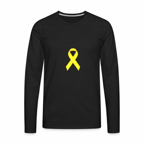 Yellow Ewing's Clothes - Men's Premium Long Sleeve T-Shirt