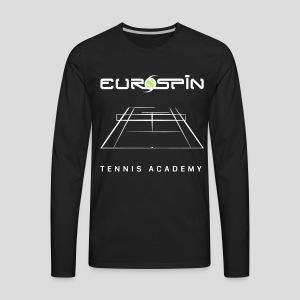 EuroSpin Tennis Design Eurospin Logo - Men's Premium Long Sleeve T-Shirt