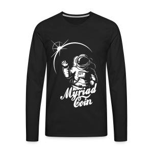 Myriad Astronaut - Men's Premium Long Sleeve T-Shirt