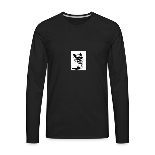 #meme aurora - Men's Premium Long Sleeve T-Shirt