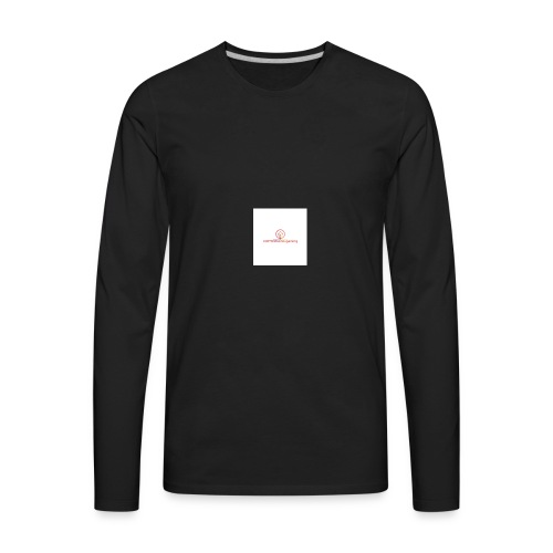 Youtube merch - Men's Premium Long Sleeve T-Shirt