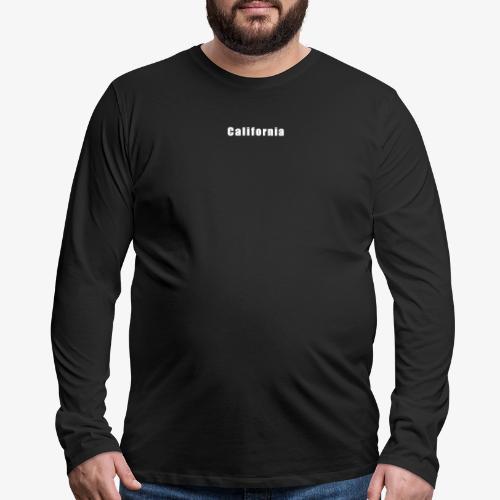 California - Men's Premium Long Sleeve T-Shirt