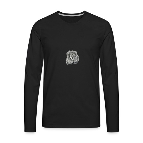 Be A Lion - Men's Premium Long Sleeve T-Shirt