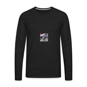 Christmas Seal - Men's Premium Long Sleeve T-Shirt