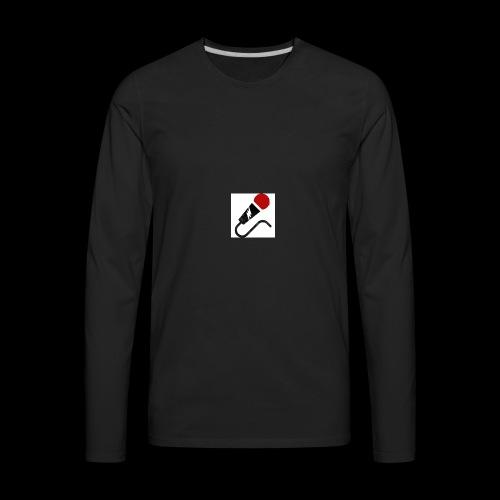 broken mic comedy - Men's Premium Long Sleeve T-Shirt