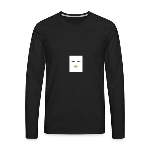 Pucker face - Men's Premium Long Sleeve T-Shirt