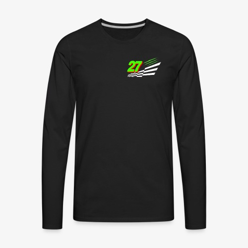 Front Chest Patch RGD Racing - Men's Premium Long Sleeve T-Shirt
