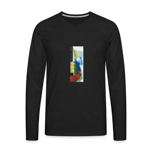 Guitar - Men's Premium Long Sleeve T-Shirt