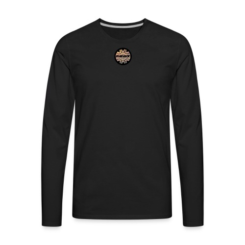 FLAPJACK2017LOGO - Men's Premium Long Sleeve T-Shirt