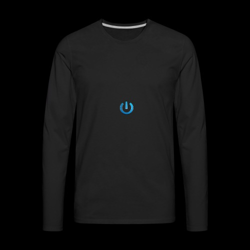 GAMingWITHty/ Never Turning Off - Men's Premium Long Sleeve T-Shirt
