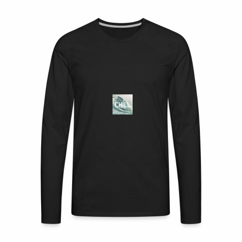 Chill Wave - Men's Premium Long Sleeve T-Shirt