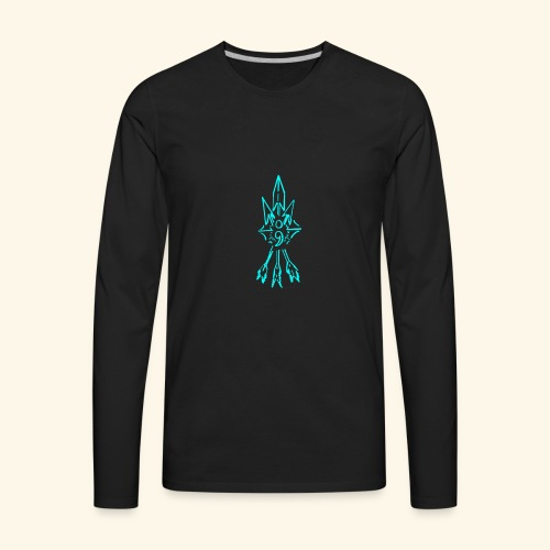 semi colon - Men's Premium Long Sleeve T-Shirt