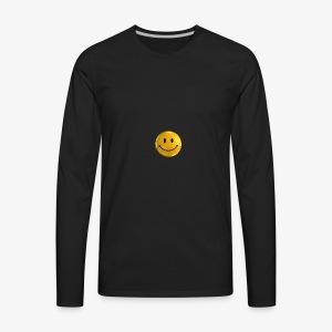 Smile Pin - Men's Premium Long Sleeve T-Shirt