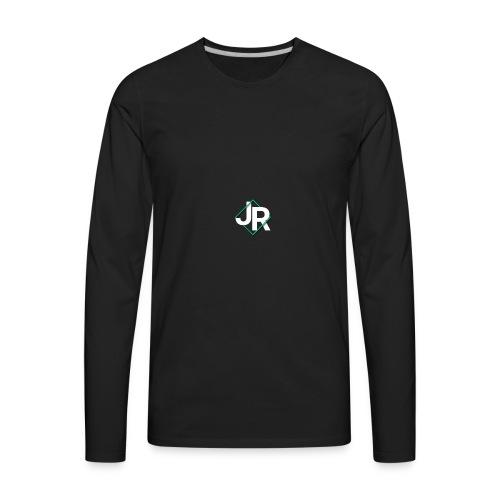J. R. Swab Logo - Men's Premium Long Sleeve T-Shirt