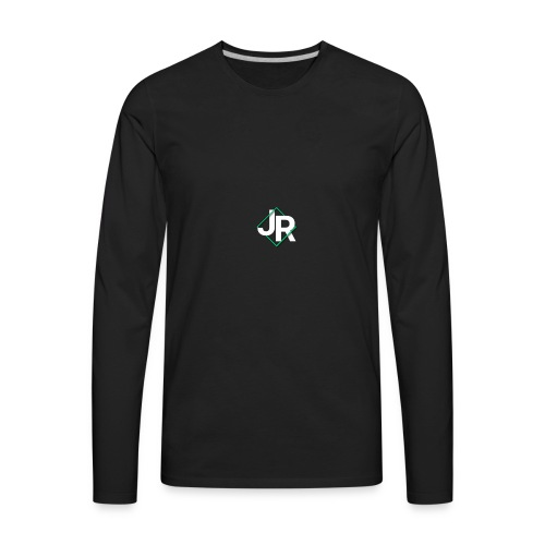 J. R. Swab Logo - Men's Premium Long Sleeve T-Shirt
