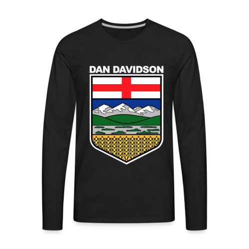 Alberta Logo - Men's Premium Long Sleeve T-Shirt
