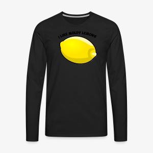 The I Like Moldy Lemons Series - Men's Premium Long Sleeve T-Shirt