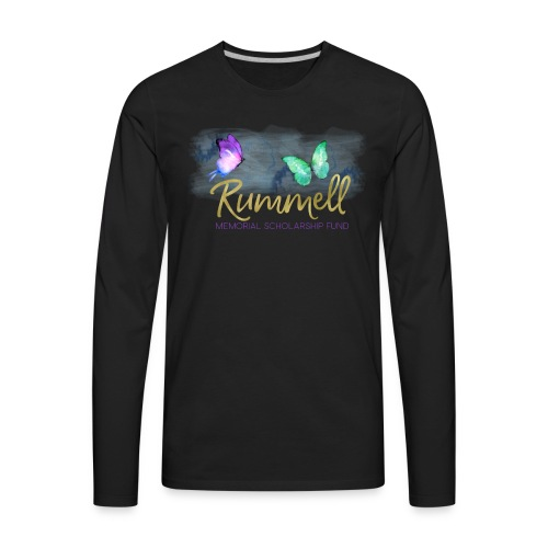 Rummell Memorial Scholarship Fund - Men's Premium Long Sleeve T-Shirt