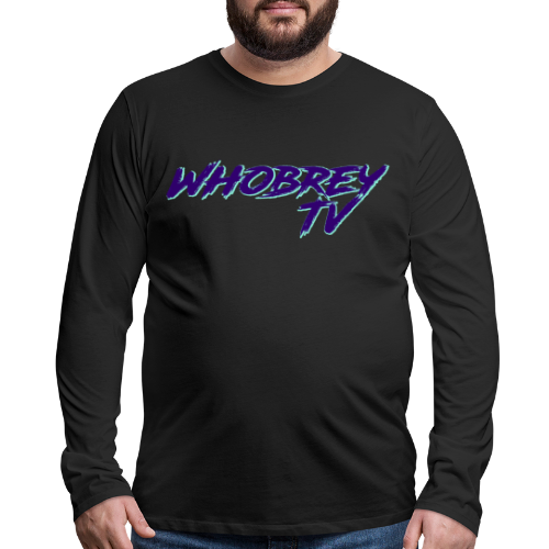 WhobreyTV RoadRage PuG - Men's Premium Long Sleeve T-Shirt