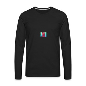 slimey man is here - Men's Premium Long Sleeve T-Shirt