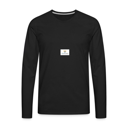 123243857 - Men's Premium Long Sleeve T-Shirt
