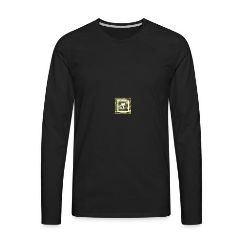 Palm Brand Camo - Men's Premium Long Sleeve T-Shirt