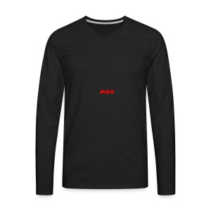 MCN Logo - Men's Premium Long Sleeve T-Shirt