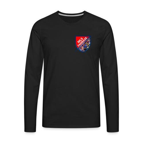 MLS Fanbase Logo - Men's Premium Long Sleeve T-Shirt