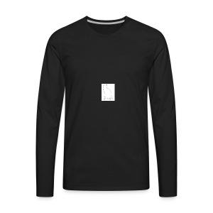 pink womens cat shirt - Men's Premium Long Sleeve T-Shirt