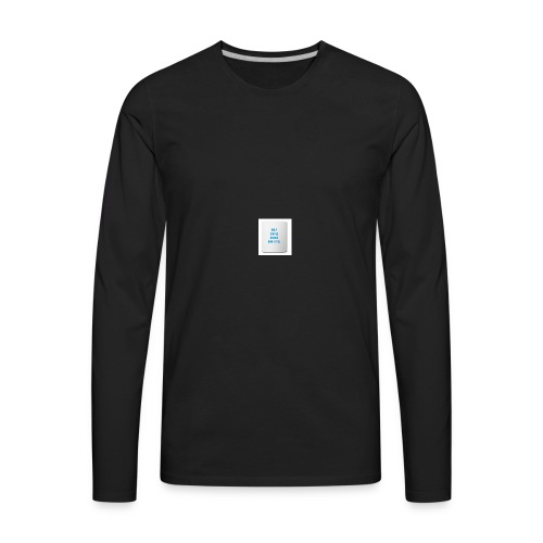 Coffee feels me - Men's Premium Long Sleeve T-Shirt