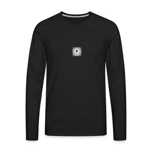 LogoSample ByTailorBrands 2 - Men's Premium Long Sleeve T-Shirt