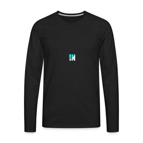 Server Logo - Men's Premium Long Sleeve T-Shirt